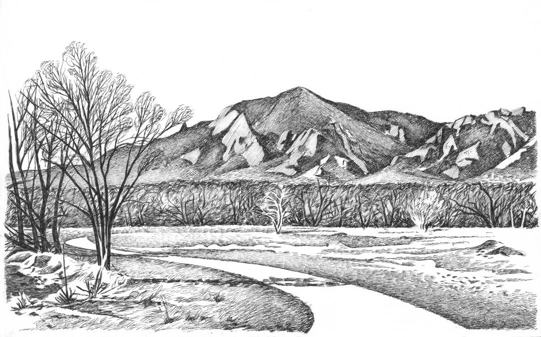 Boulder Bike Path 1991
