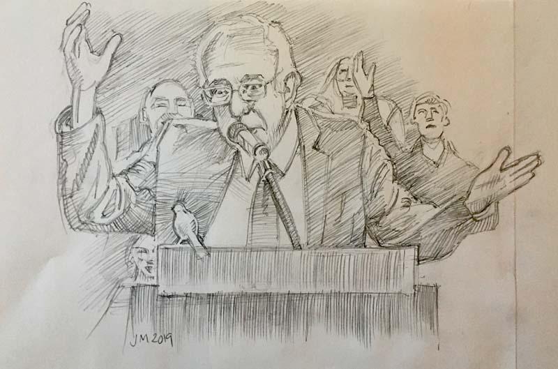 Birdie Bernie Sanders