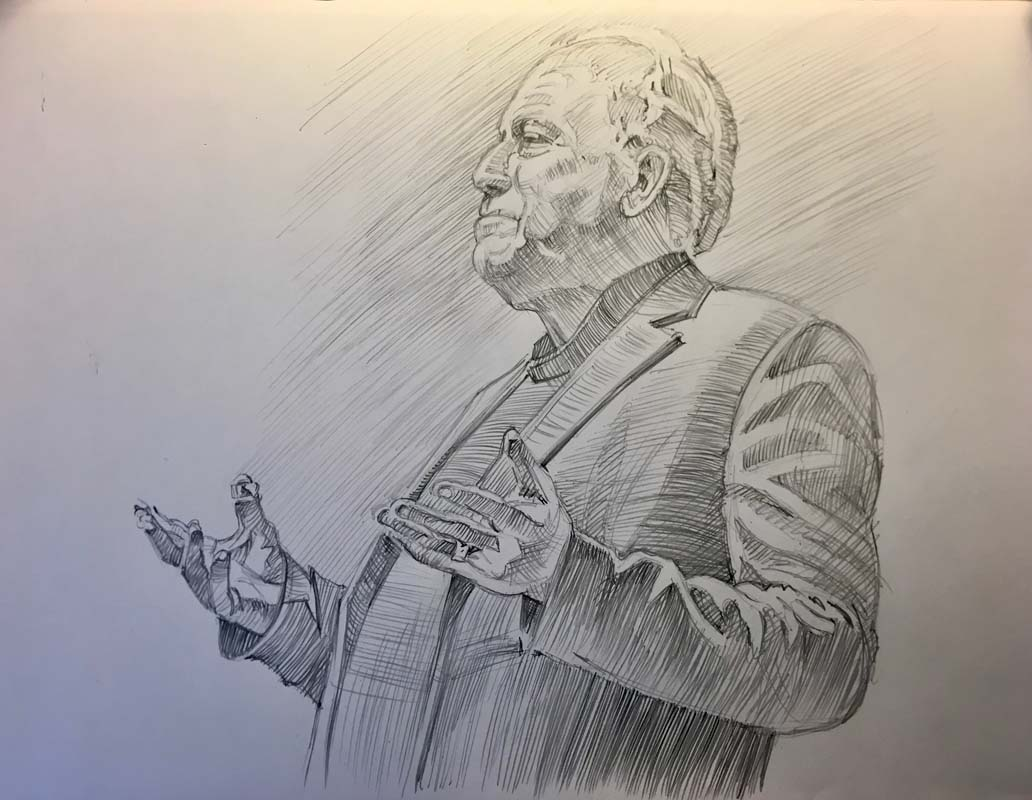 Pete Wernick, Niwot Grange Hall 2019